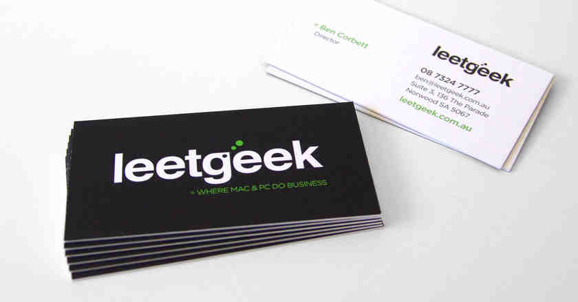 leetgeek, business, cards